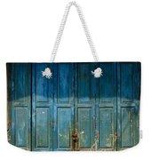 old door in China town Weekender Tote Bag