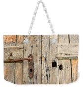 Old Door In Sebastia Weekender Tote Bag