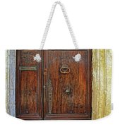 Old Door Study Provence France Weekender Tote Bag