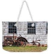 Old Farm Equipment Weekender Tote Bag