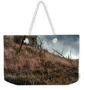 Old Farmhouse With Stormy Sky Weekender Tote Bag