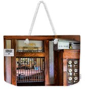 Old Fashion Post Office Weekender Tote Bag by Paul Ward
