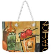 Old Fashioned Poster Weekender Tote Bag