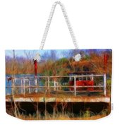 Old Ferry On The Cumberland Weekender Tote Bag