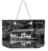 Old Fishing Boat Weekender Tote Bag