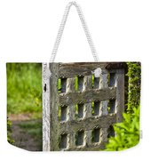 Old Garden Entrance Weekender Tote Bag
