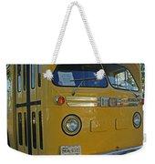 Old Gm Bus Weekender Tote Bag