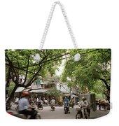 Old Hanoi Life Weekender Tote Bag