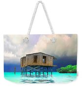 Old House Near The Storm Filtered Weekender Tote Bag
