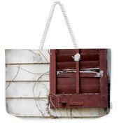 Old House Red Shutter 3 Weekender Tote Bag