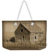 Old Hunting Cabin - Wyoming Weekender Tote Bag
