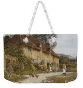 Old Kentish Cottage Weekender Tote Bag