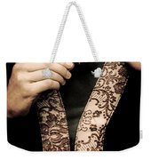 Old Key Weekender Tote Bag
