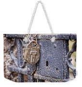 Old Lock Weekender Tote Bag