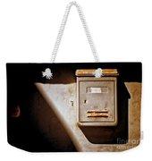 Old Mailbox With Doorbell Weekender Tote Bag