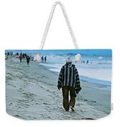 Old Man And The Beach Weekender Tote Bag