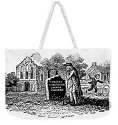 Old Man At Tombstone Weekender Tote Bag