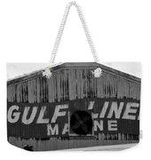 Old Marine Sign Weekender Tote Bag