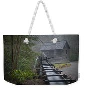 Old Mill In The Smokey Mountains Weekender Tote Bag
