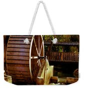 Old Mill Park Wheel Weekender Tote Bag