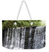 Old Mill Waterfall Weekender Tote Bag