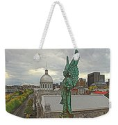 Old Montreal Angel Weekender Tote Bag
