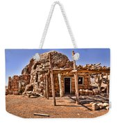 Old Navajo Stone House Weekender Tote Bag