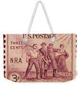 Old Nra Postage Stamp Weekender Tote Bag