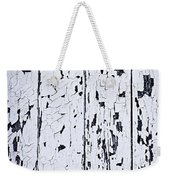 Old Painted Wood Abstract Weekender Tote Bag