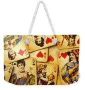 Old Playing Cards Weekender Tote Bag