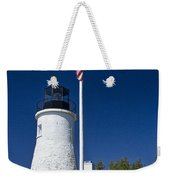 Old Presque Isle Light Station Weekender Tote Bag