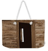 Old Ranch Hand Cabin Entry Weekender Tote Bag