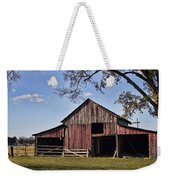Old Red Barn  Weekender Tote Bag
