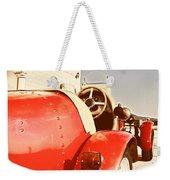 old Red Race Car Weekender Tote Bag