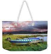 Old Row Boats Weekender Tote Bag