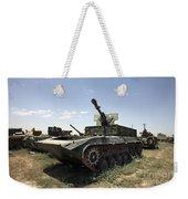 Old Russian Bmp-1 Infantry Fighting Weekender Tote Bag