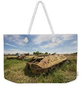 Old Russian Btr-60 Armored Personnel Weekender Tote Bag