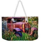 Old Rusting Truck Weekender Tote Bag