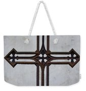 Old Rusty Vintage Cross Weekender Tote Bag