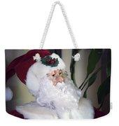 Old Santa Claus Weekender Tote Bag