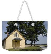 Old School House 1 Of 2 Weekender Tote Bag