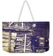 Old Shed Weekender Tote Bag by Joana Kruse