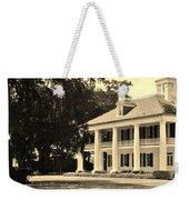 Old Southern Plantation Weekender Tote Bag