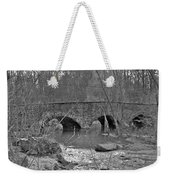 Old Stone Bridge Over The Unami Creek - Sumneytown Pa Weekender Tote Bag