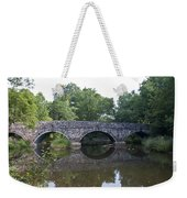 Old Sumneytown Pike Bridge Over The Perkiomen Creek Weekender Tote Bag