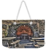Old Tables And Benches Weekender Tote Bag