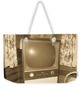 Old Television Weekender Tote Bag by Shannon Harrington