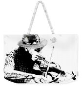 Old Time Fiddle Player No.560 Weekender Tote Bag