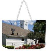 Old Town Mystic Church Weekender Tote Bag