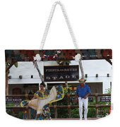 Old Towne San Diego Dancing Weekender Tote Bag
